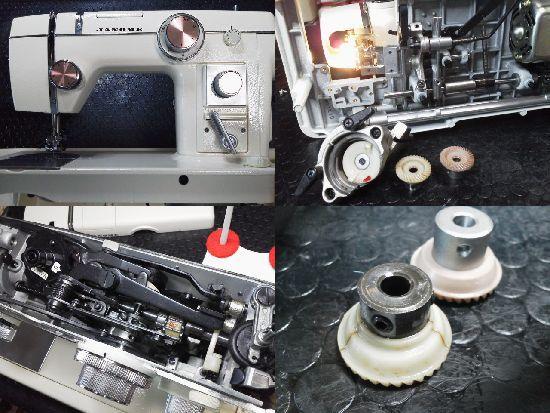 ジャノメ/トピアエース802/ミシン修理