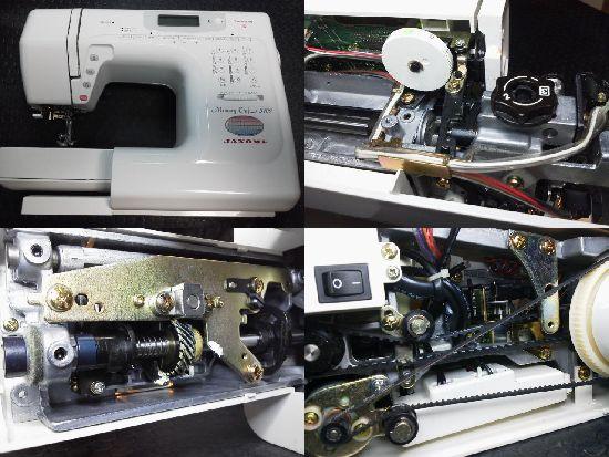 ジャノメメモリークラフト5100修理