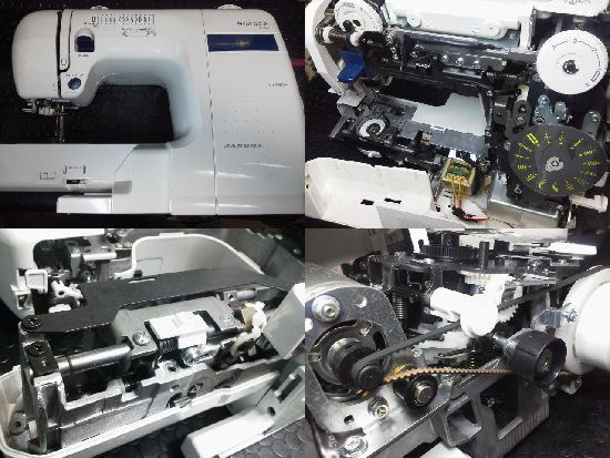 ジャノメmonaze E-4000修理