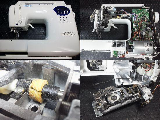 JUKI HZL-T470修理