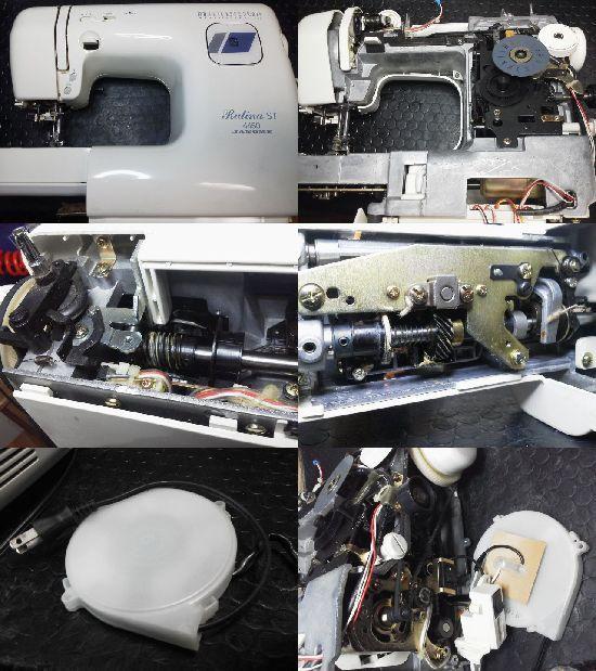 ジャノメRutina ST 4450修理