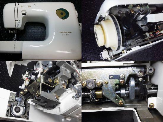 ジャノメ5450修理
