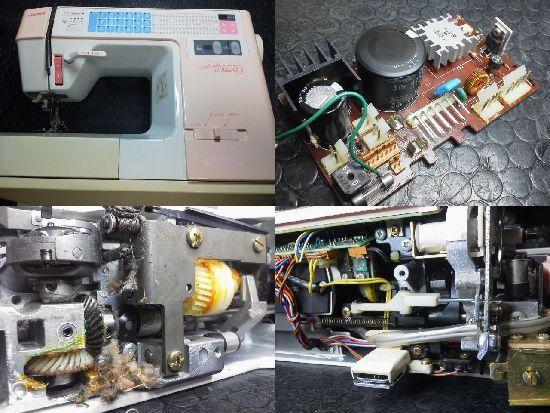 JUKI HZL-7700修理