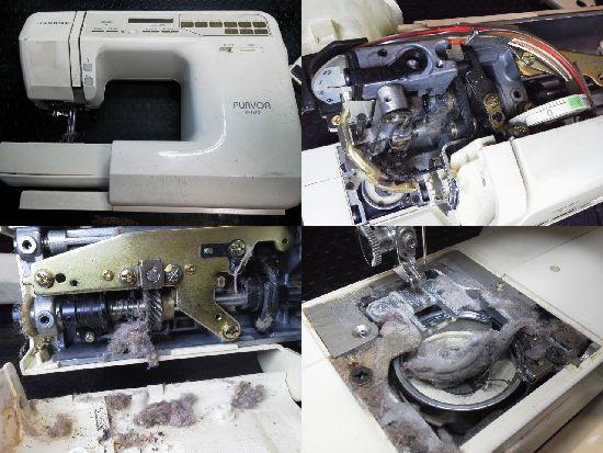 ジャノメpurvoa6400修理