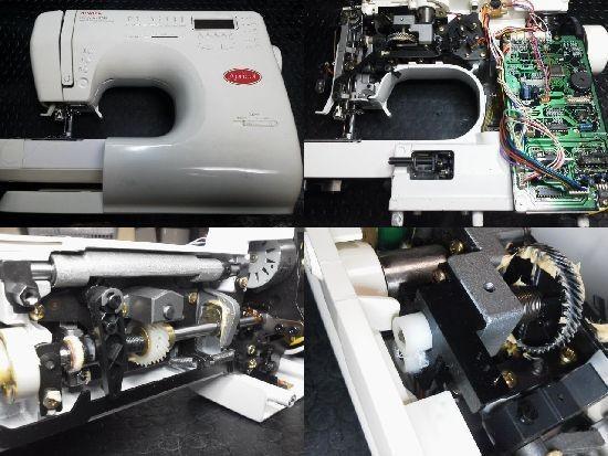 SINGERアプリコット9780修理