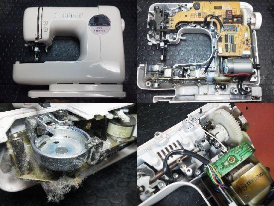 シンシア/ZZ3-B121/ミシン修理