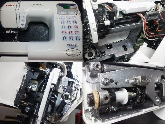 ジャノメDC4030ミシン修理