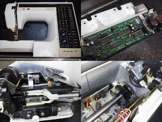 メモリークラフト6000修理