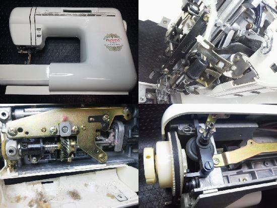 ジャノメC310修理