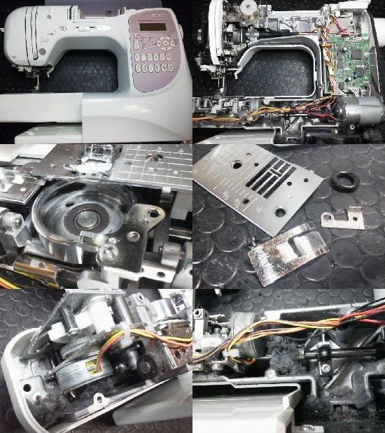 ブラザーPC-8000修理