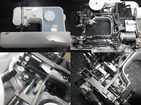 ブラザーEL117修理
