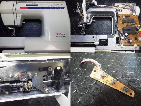 JANOME LiRio5000 修理