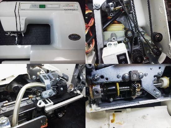 JANOMEミシン8430修理