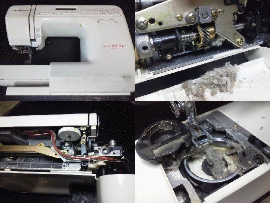 JANOME C410修理