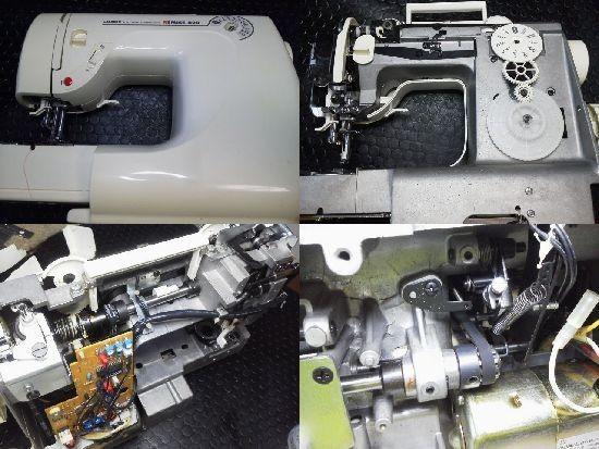 Remise820/HZL820/JUKIミシン修理