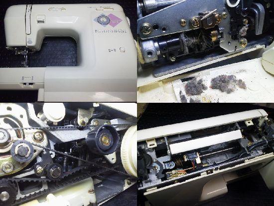 ジャノメ5710修理