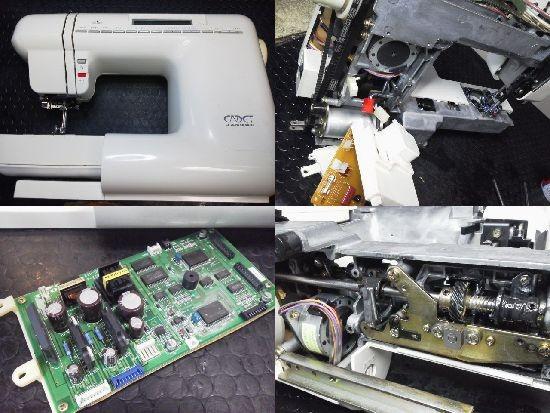 ジャノメCADET4000ミシン修理
