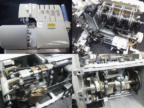 ベビーロックKM504修理