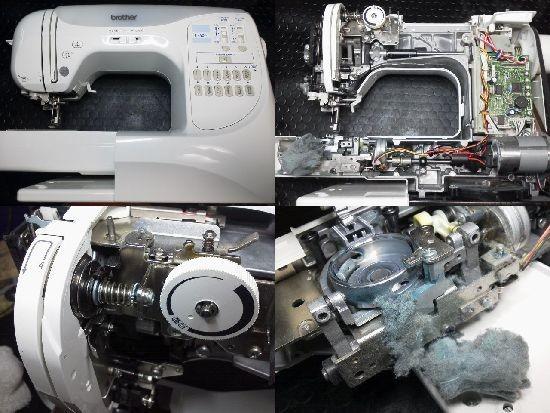 ブラザーLS500ミシン修理