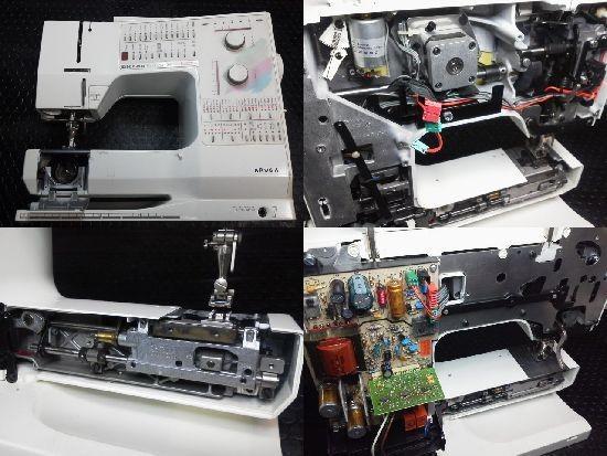 ホリデーヌ1241ミシン修理