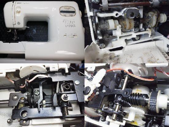 ブラザーミシン修理/Licia/ZZ3-B584