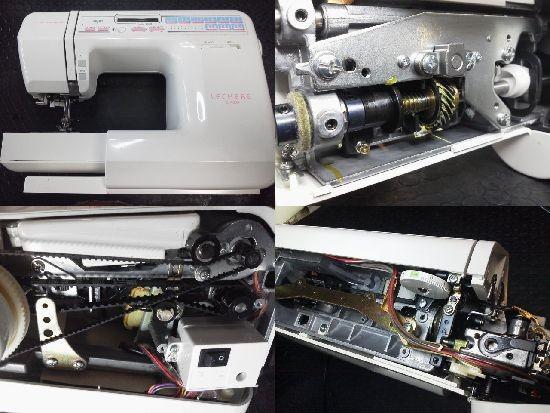 ジャノメ LECHERE C420 ミシン修理分解画像