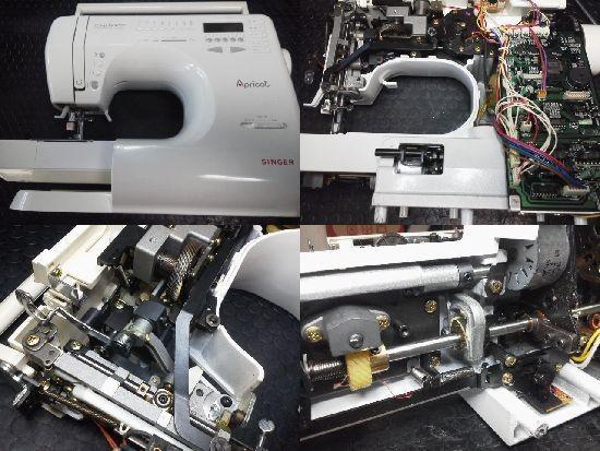 シンガー アプリコット9700 ミシン修理分解画像