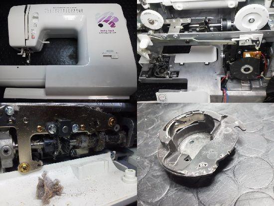 ベビーロック コンパニオン BC4600 ミシン修理分解画像