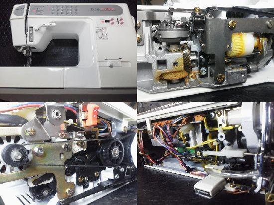 JUKI HZL-7600 ミシン修理分解画像