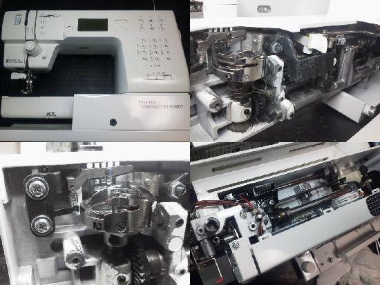 ベビーロック COMPANION9800 ミシン修理分解画像