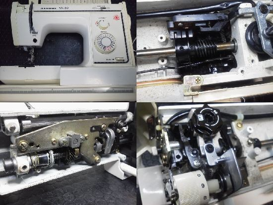 JANOME K3180 ミシン修理分解画像