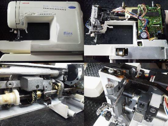 SINGERミシン修理分解画像 Minx 2660型