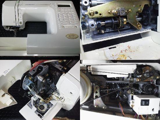 ジャノメ S7702 ミシン修理分解画像