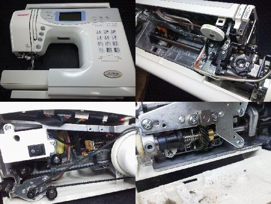 JANOMEミシン修理分解画像 シェーネ 5250型
