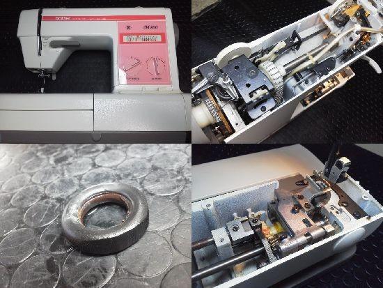 ブラザーミシン M800 ミシン修理分解画像