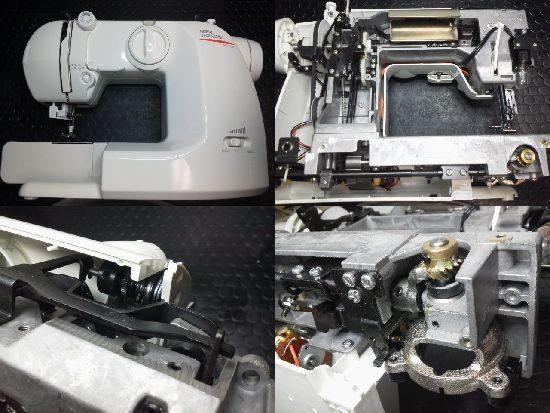 山崎範夫AG-002N ミシン修理分解画像