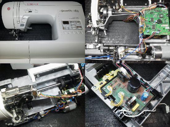 シンガーミシン SY-180 ミシン修理分解画像