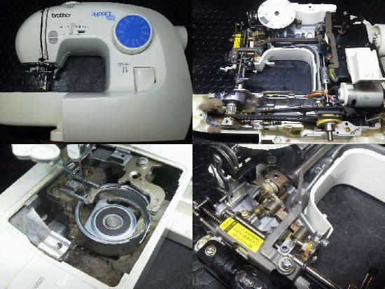 ブラザーミシン修理分解画像 EL125
